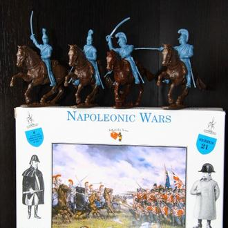 французские карабинеры на конях Ватерлоо Наполеоновские войны (A Call to Arms) 54мм