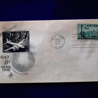 США  КПД 1947г. NEW YORK