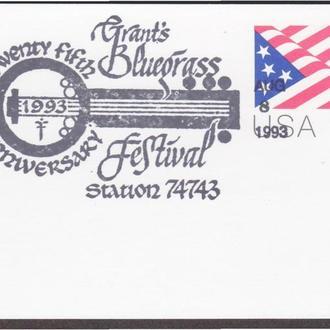 США 1993 ФЕСТИВАЛЬ GRANT'S BLUEGRASS ДЖАЗ МУЗЫКА КОНКУРС МУЗЫКАЛЬНОЕ ИНСТРУМЕНТЫ ПК ОМ СГ
