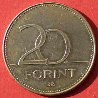 20 форинтів 1995 р. Угорщина.