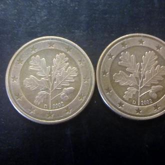 5 евроцентов (2002-D) Германия.
