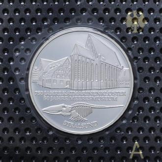 10 Марок 2001 А Военно-морской музей в Штральзунде,(13) Германия Пруф