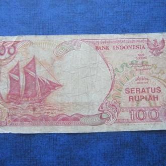 банкнота 100 рупий Индонезия 1992 №3