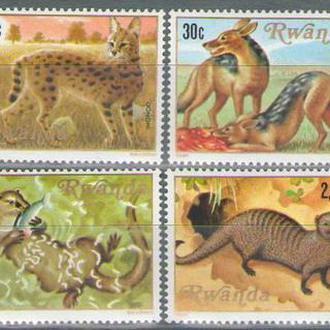 Руанда 1981 фауна
