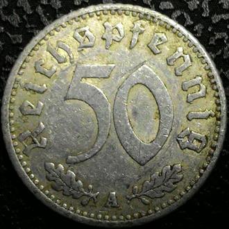 Германия 50 пфеннигов 1935 год ТРЕТИЙ РЕЙХ