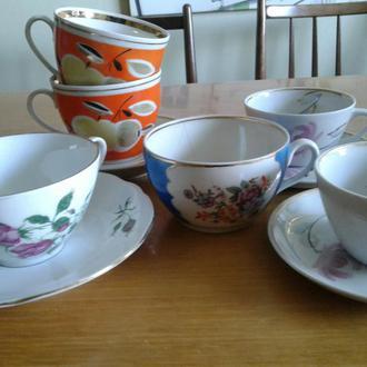 Чашки советского периода