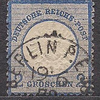 Рейх, 1972 г., первые марки, марка № 5