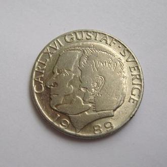 1 крона =  1989 г. = ШВЕЦИЯ
