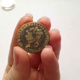 Мастерская Монета Жетон. Люд.XVI. 1793 г. Кубок. Франция.