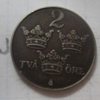 ШВЕЦИЯ, 2 эре 1949 года.