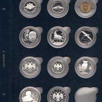 Лист для монет в капсулах (диаметр ячейки 41 мм)