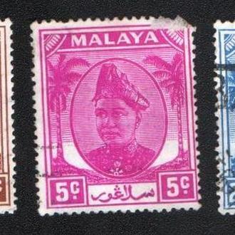 Малайя, Селангор (1949) Британская колония. Султан