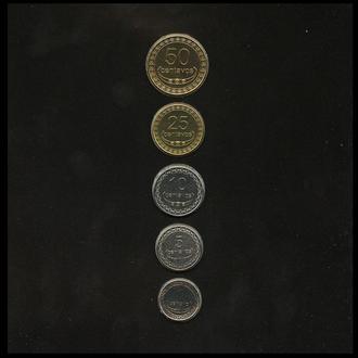 Timor / Тимор - годовой набор 5 монет 2004  в холдере UNC