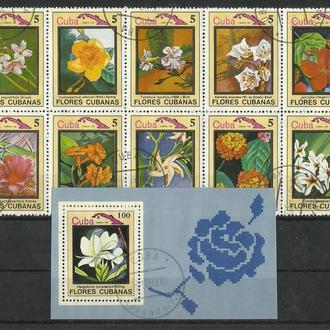 Серия марок Кубы