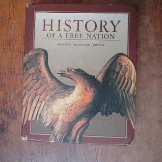 История Америки. на англ.  большая.