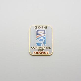 хоккей значок Континентальный кубок Европы 2016 финал Франция