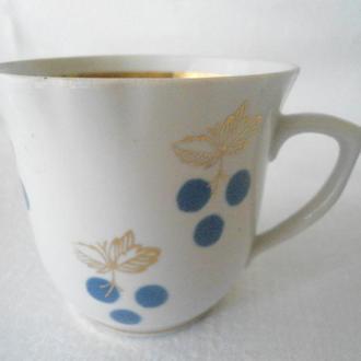 Чашка чайная Городница, кобальтовый рисунок
