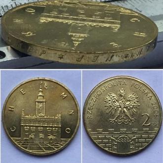 Польша 2 злотых, 2006г  Древние города Польши - Хелмно. Юбилейные монеты