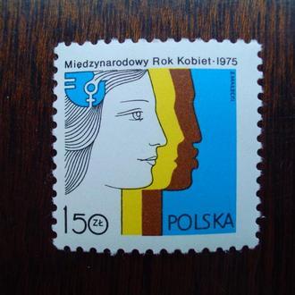 Польша.1975г. Год женщин. Полная серия. MNH