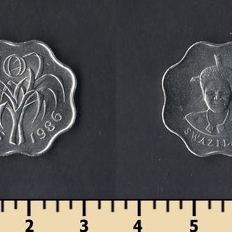 Свазиленд 10 центов 1986