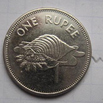 СЕЙШЕЛЬСКИЕ ОСТРОВА. 1 рупия 2010 года (СОСТОЯНИЕ).