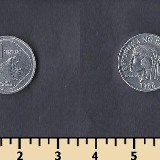 Филиппины 1 сентимо 1983-1993