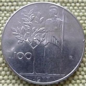 100 лир 1977 год