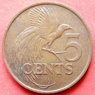 (К1) Тринидад и Тобаго 5 центов 1995