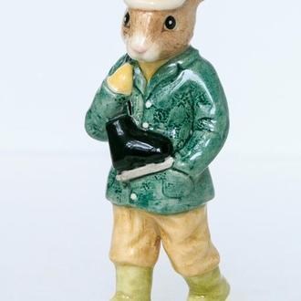 Фарфоровая статуэтка Кролик Boy skater Royal Doulton Англия