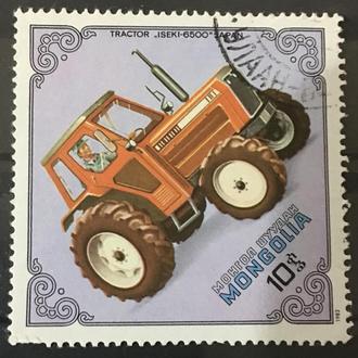 Монголия трактор