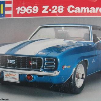 Сборная модель автомобиля Chevrolet  '69 Camaro Z-28 RS  1:24 Revell