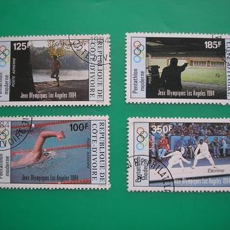 Берег Слоновой Кости 1984 * Спорт полн. серия