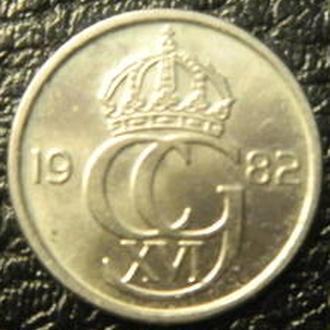 10 оре 1982 U Швеція