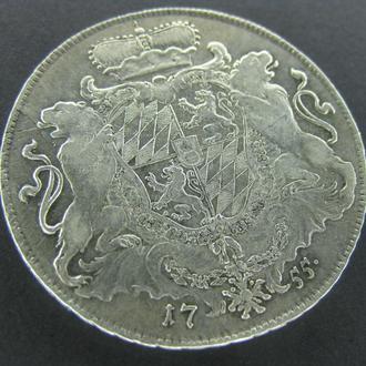 талер бавария 1755 редок (бесплатная доставка из Польши)