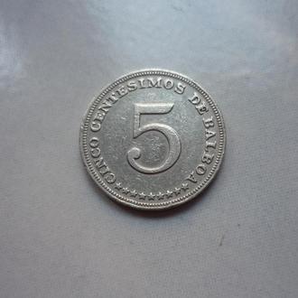 Панама 5 сентесимо 1993