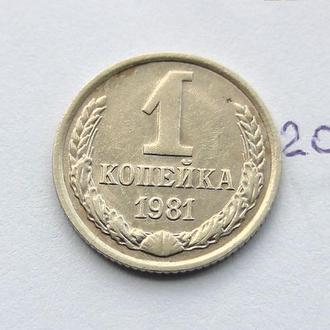 1 копейка СССР 1981 год