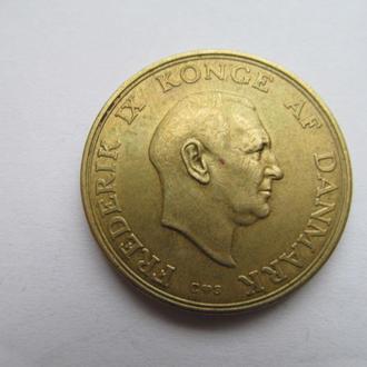 Дания  2  кроны  1957  год