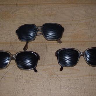 очки перфорационные с дырочками