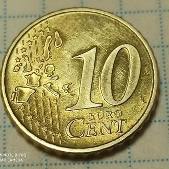 ГЕРМАНИЯ, 10 центов 2002 a