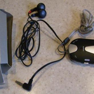 Портативное радио и фонарик