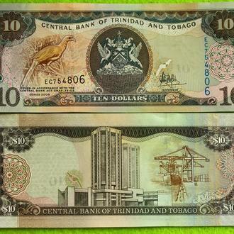 Тринидад и Тобаго, 10 долларов  2006  UNC