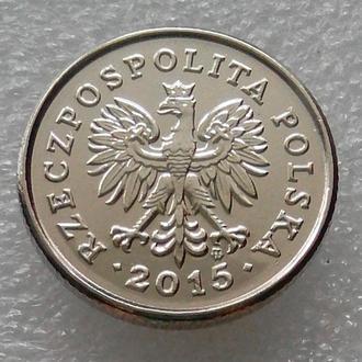 Польша 50 грош 2015 года