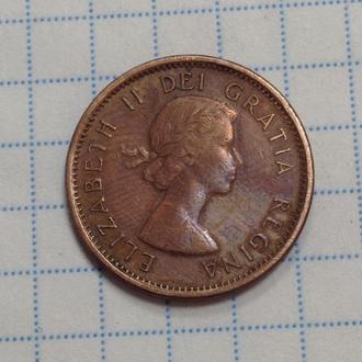 КАНАДА, 1 цент 1963