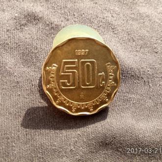 Мексика 20 сентаво 1997 аUNC!