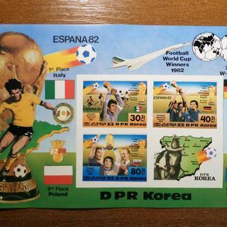 КНДР ЧМ футбол 1982 КЦ=12евро