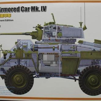 Сборная модель Humber Armored Car Mk.IV  1:35  Bronco 35081SP