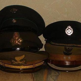 Иностранные армейские и  полицейские фуражки