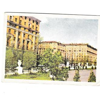Открытка, Беларусь, Минск 1967