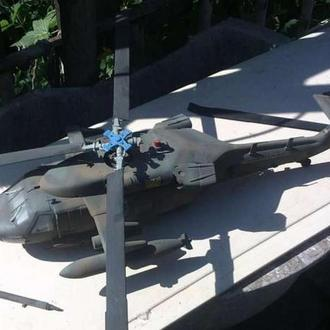 Вертолёт МН-60 М=1-35