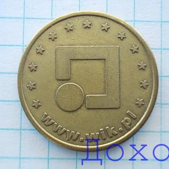 Жетон игральный NO CASH VALUE www.wik.pl